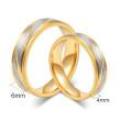 Ocelové snubné prstene JCFCR013