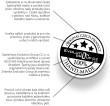 Pečiatka ručnej výroby a kvalitného spracovania náušničiek