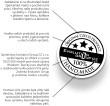 Pečiatka kvality a ručnej výroby šperkov Swarovski evolution