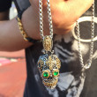 Dlhý oceľový náhrdelník JCFPN-1158