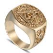 Pečatný prsteň pre mužov WJHZ63 - Slobodomurári
