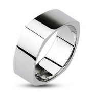 Oceľový prsten Spikes 0001
