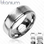 Titanový prsteň Spikes SEHRTI0350