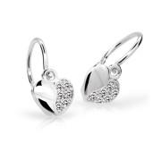 Nausnice pre babatko Cutie Jewellery C2160B White