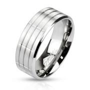Oceľový prsteň Spikes 2382