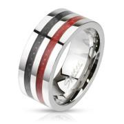 Oceľový prsteň Spikes KR2686