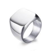 Oceľový pečatný prsteň pre mužov JCFRC294S