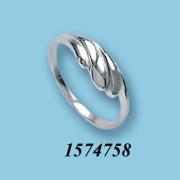 Strieborný prsteň 1574758
