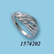 Strieborný prsteň 1574202
