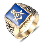 Oceľový pečatný prsteň WJHC55-Slobodomurári