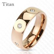 Titánový prsteň Spikes 3699