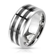 Oceľový prsteň Spikes 2686K