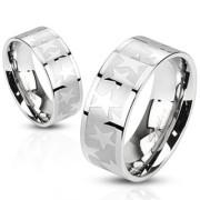 Oceľový prsteň Spikes 2486