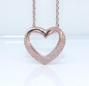 Dámsky náhrdelník srdce 306986
