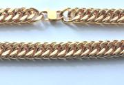 Pánsky reťaz na krk zlatý chirurgická oceľ WJHN08-GD