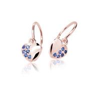 Detské náušnice Cutie Jewellery C2160R-Blue Dark
