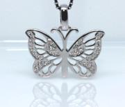 Prívesok na retiazku motýlik 308409