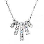 Swarovski elements náhrdelnik 32024.1 krystal
