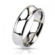 Oceľový prsteň Spikes 0020
