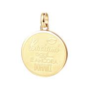 Zlatý prívesok na náramok Brosway Tres Jolie BTJM342