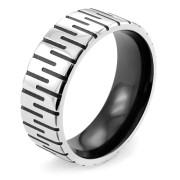 Oceľový prsteň 002