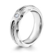 Oceľový prsteň MCRSS012