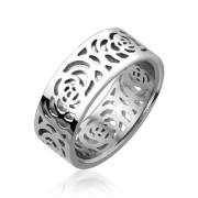 Oceľový prsteň Spikes 1872