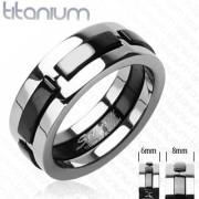Titanový prsteň Spikes SEHRTI3437