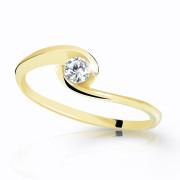Prsteň s kamienkom zlatý Z6134Y