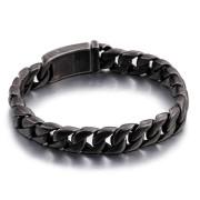 Oceľový náramok pre mužov šedý WJHB337