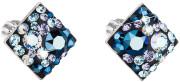 Náušnice na skrutku Swarovski elements 31169.3 Blue Style