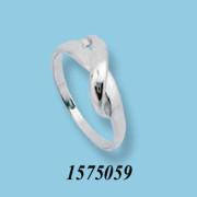 Strieborný prsteň 1575059