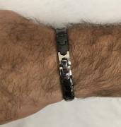 Magnetický náramok WJHB356-Čierna
