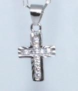 Strieborný krížik 307058