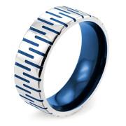Oceľový prsteň 003