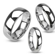 Wolfrámový prsteň Spikes 020
