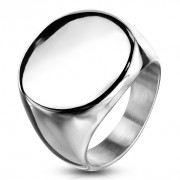 Pánsky oceľový pečatný prsteň 6575S