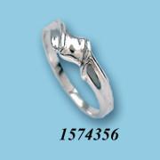 Strieborný prsteň 1574356