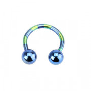 Piercing ucha T11-BLUE1,6