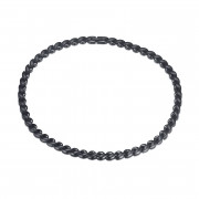 Oceľový náhrdelník lístočky SEJCF003B