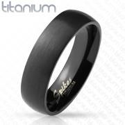 Čierny prsteň SERTM3882