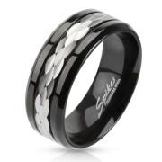 Oceľový prsteň Spikes 2380