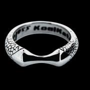 Oceľový prsteň KoolKatana 005