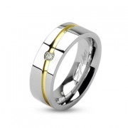 Oceľový prsteň Spikes Z1002