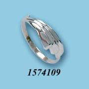 Strieborný prsteň 1574109