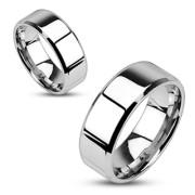 Oceľový prsten Spikes 0006