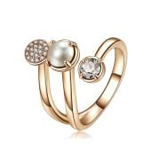Moderné dámsky prsteň Brosway Affinity BFF85