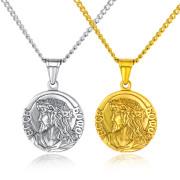 Oceľový medailón pána Ježiša JCFGX1402