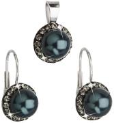 Strieborna súprava šperkov Swarovski 39091.3 Tahiti