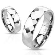 Oceľový prsteň Spikes 2507